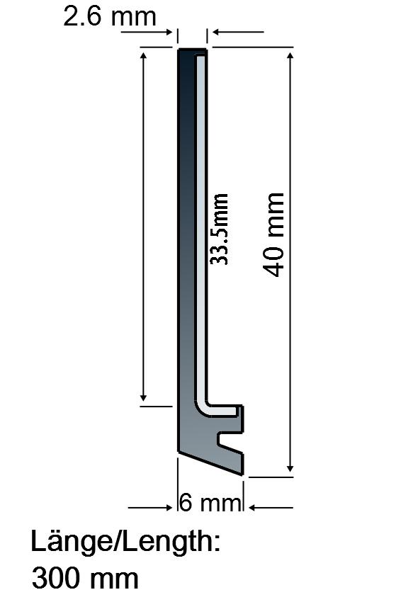 WIVS40-300 Way wipers - BUWW
